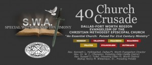 40 Church Crusade Poster