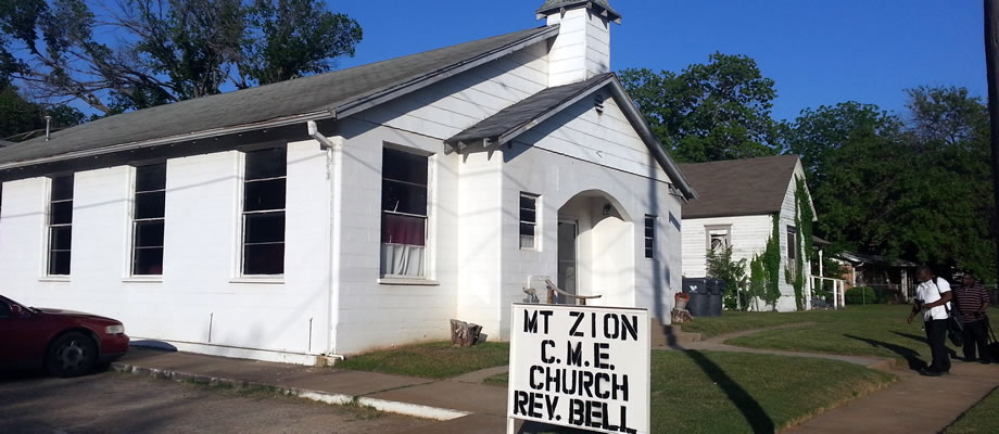 Mt. Zion C.M.E. Church